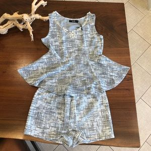Love Junkie Top and Shorts Set